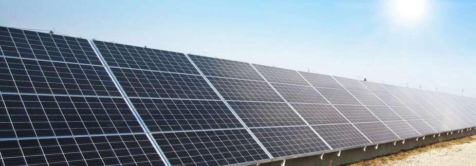 太陽光発電工事業の場合(材料費の前払い)