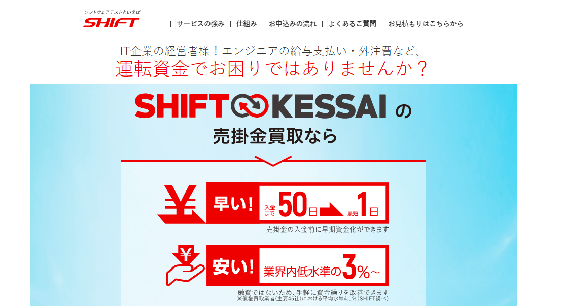 SHIFT KESSAI